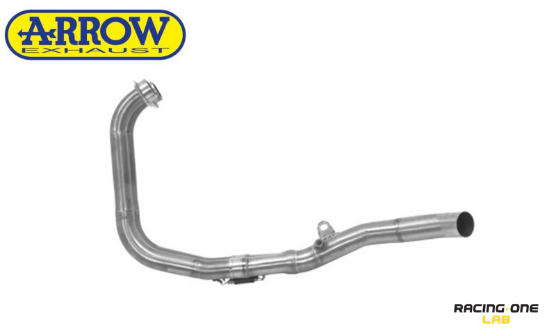 Header collectors racing stainless steel for original muffler silencer and  mufflers silencers Arrow