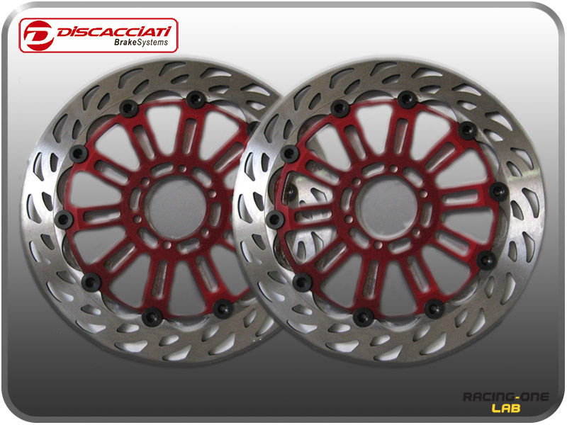 Couple front brake discs racing light floating 320mm